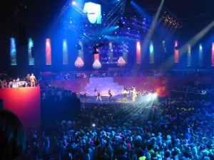 Robe Studio 54 Sportpaleis event Antwerp lights   06a