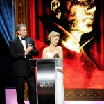 XL Video Olivier Awards 2013 Hugh Bonneville & Sheridan Smith Photo Jonathan Hordle Rex Features(a)