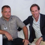 On the left is Rene De Keyzer, new CEO of XL Video Inc., and on the right is XL Video's global CEO, Lucas Covers.
