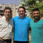 Photo caption : L - R Elie Battah (General Manager, ROBE Middle East Trading LLC), Roger Bakhos (Owner, La Production) and Elie Harfouche (Chief Technician, La Production)