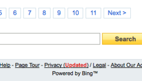 Yahoo! now officially powered by Bing