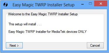 Easy Magic TWRP Installer