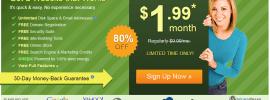 Hébergement+Nom de domaine à 1,99$/mois : créer votre siteweb maintenant