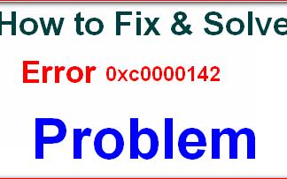 Error 0xc0000142