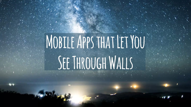mobile apps that let you see through walls. Black Bedroom Furniture Sets. Home Design Ideas