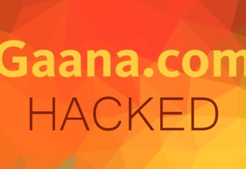 Gaana.com Hacked