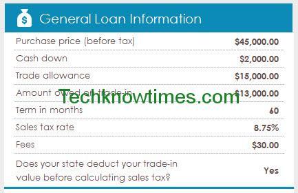 Auto Loan Amortization Excel Template - amortization calculator excel