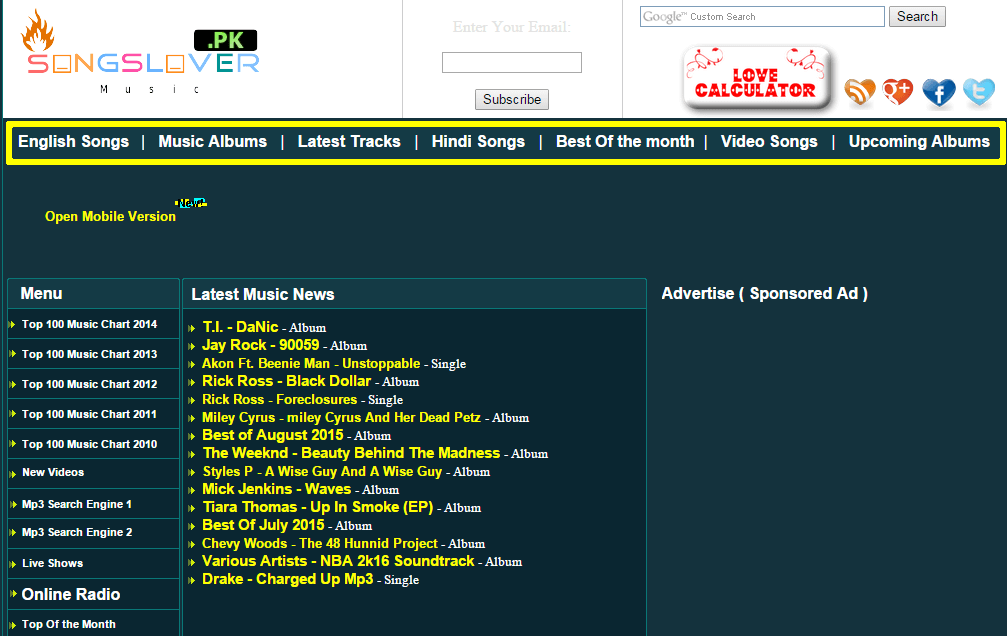 best website to download free full albums