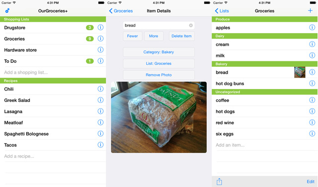 The Best Grocery List Apps - Techlicious