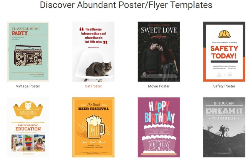 How to create posters and flyers online? - Tech Magazine