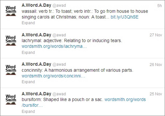 5 Twitter Feeds To Learn A New Word Daily · TechMagz