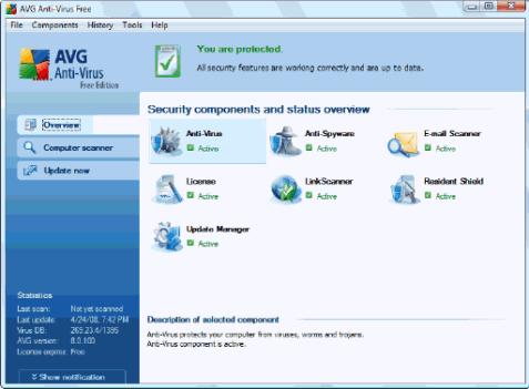 AVG Anti-Virus Free Edition
