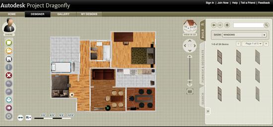 AutoDesk DragonFly - Online Home Design Software - design homes online
