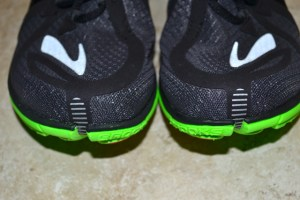 The Brooks PureProject toe split.