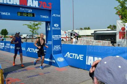 Finishing Ironman 70.3