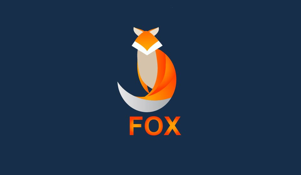 How To Design Fox Logo With Illustrator Step By Step