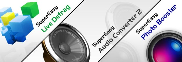 Super Easy Photo Booster,Audio Converter &amp; Live Defrag for Free