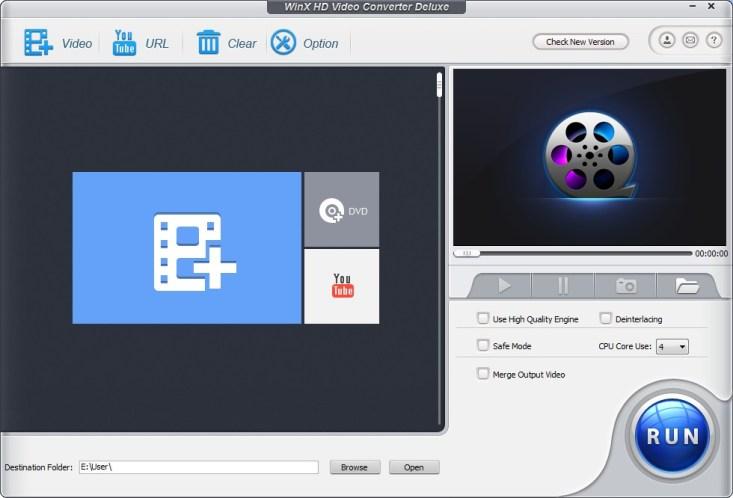 WinX HD Video Converter Deluxe v4