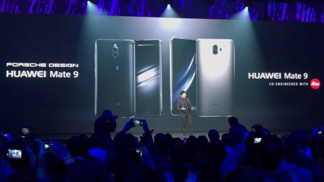 Huawei presenta Mate 9 e Porsche Design: le novità