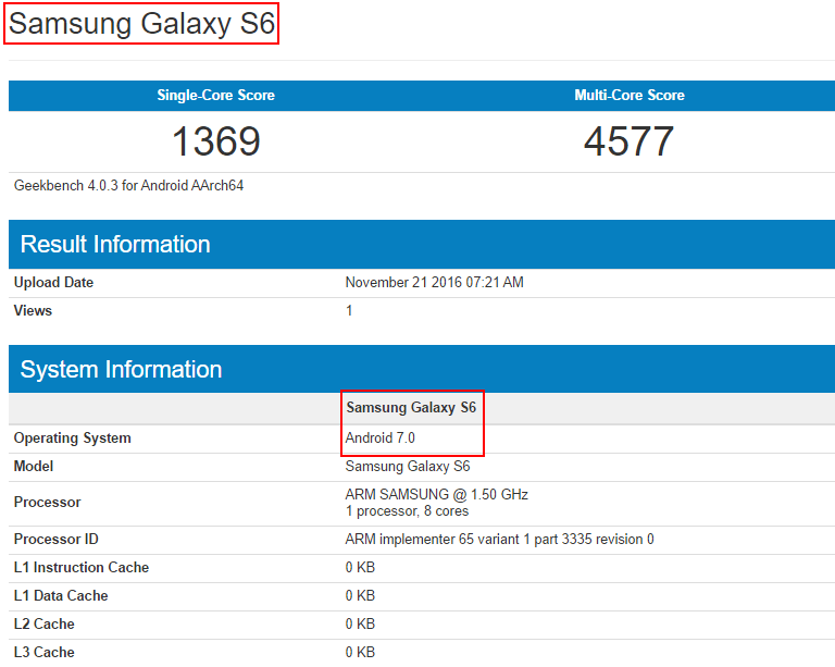 Android 7.0 Nougat arriverà anche su Galaxy S6 ed S6 Edge