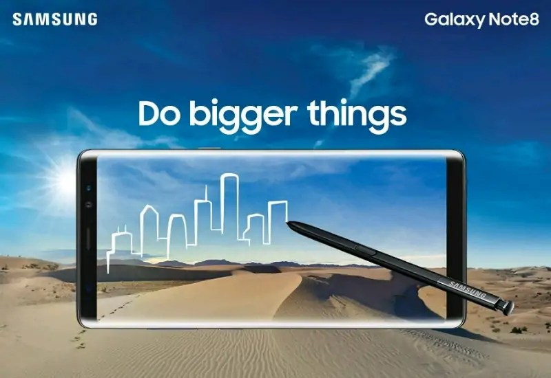 Samsung Launched Galaxy Note 8 Smartphone In India