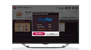 LG integra PayPal en sus pantallas Smart TV