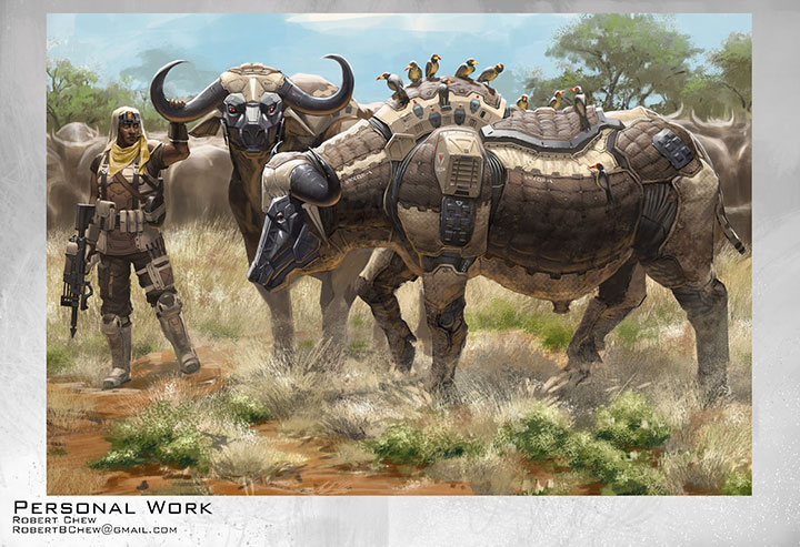 Rhino 3d Wallpaper Endangered Robotic Animals Armed To Fight Against Poachers
