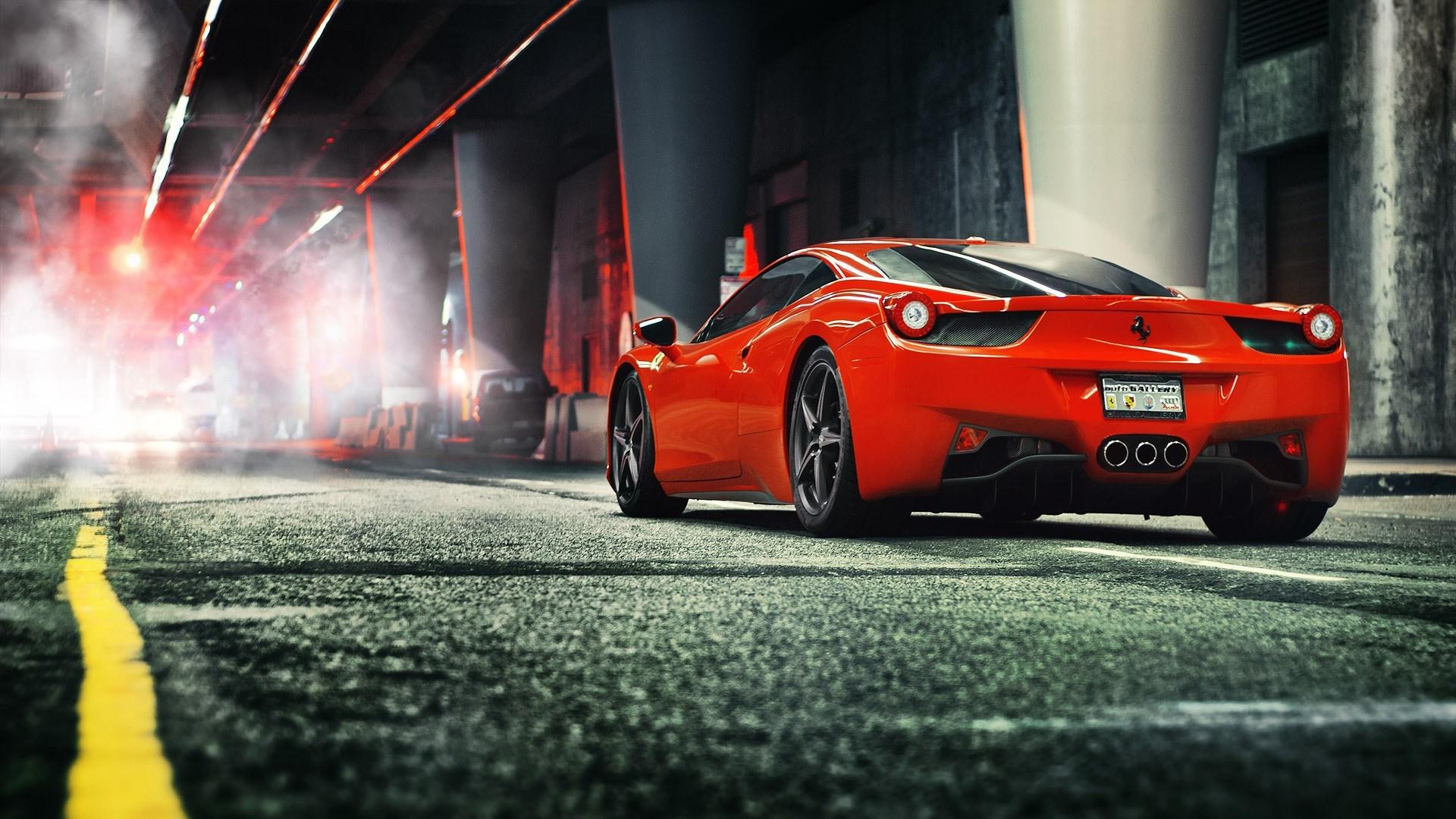 Hd Ferrari Wallpapers For Free Download