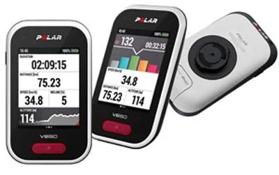 polarV650 differentes vues Rouler en confiance avec l'ordinateur de bord et GPS pour vélo Polar V650