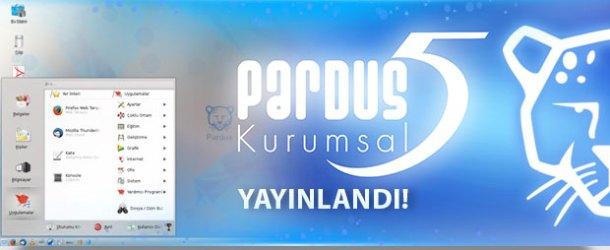 PARDUS'un yeni sürümü 'Kurumsal 5' yayınlandı