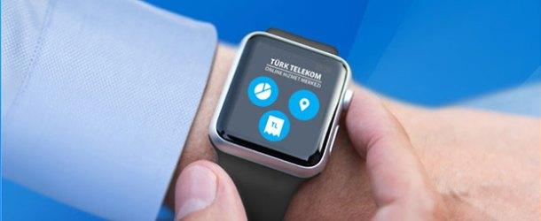 Türk Telekom'un Online İşlemler uygulaması Apple Watch'ta