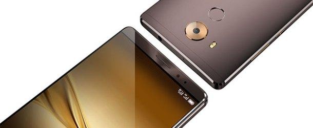 Yeni akıllı telefon Huawei Mate 8 #CES2016'da tanıtıldı