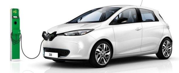 Avrupa'nın en çok satılan elektrikli otomobili Renault ZOE