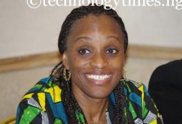 Dr Omobola Johnson, Minister of Communication Technology of Nigeria