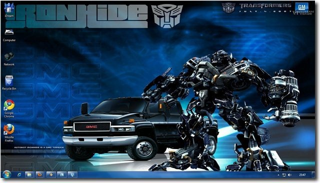 Car Wallpaper Themes Windows 7 Transformers Theme For Windows 7 And Windows 8