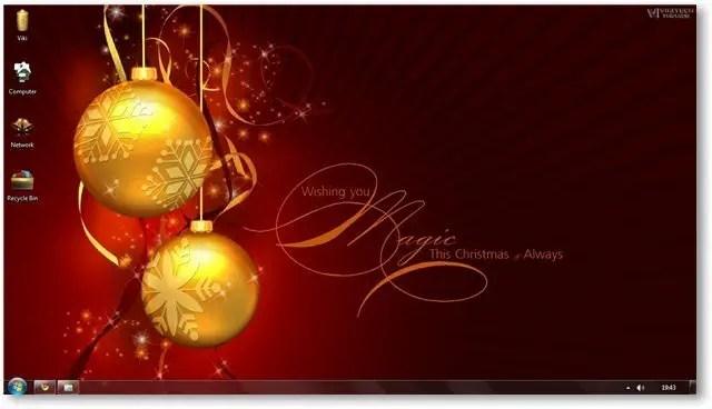 Windows 7 Themes - Christmas Theme For Windows Holiday Themes - christmas themes images