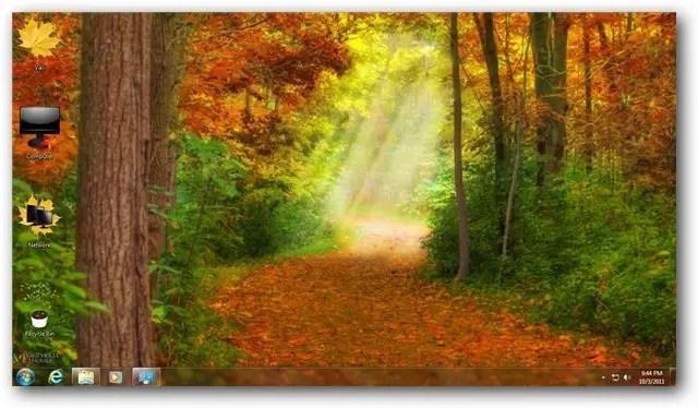 Microsoft Wallpaper Fall Autumn Theme For Windows 7 And Windows 8 Nature Themes