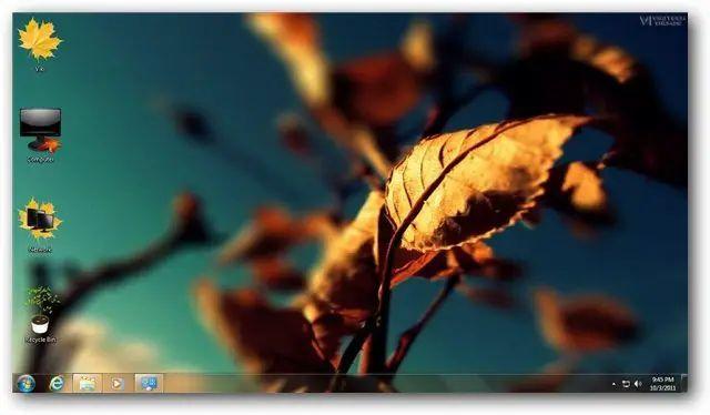 windows 10 autumn themes