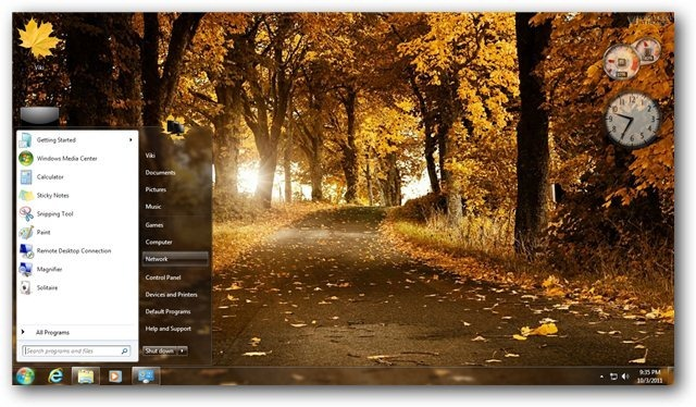 Fall Wallpaper Themes Autumn Theme For Windows 7 And Windows 8 Nature Themes