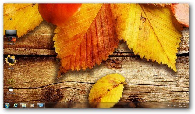 Hd Wallpaper Fall Leaf Change Autumn Theme For Windows 7 And Windows 8 Nature Themes