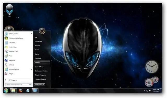 Logon Wallpaper Hd Alienware Theme For Windows 7 And Windows 8