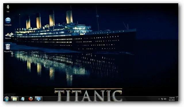 Logon Wallpaper Hd Titanic Theme For Windows 7