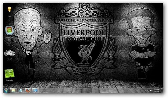 Dark Theme Wallpaper Hd Quote Liverpool Fc Windows 7 Theme