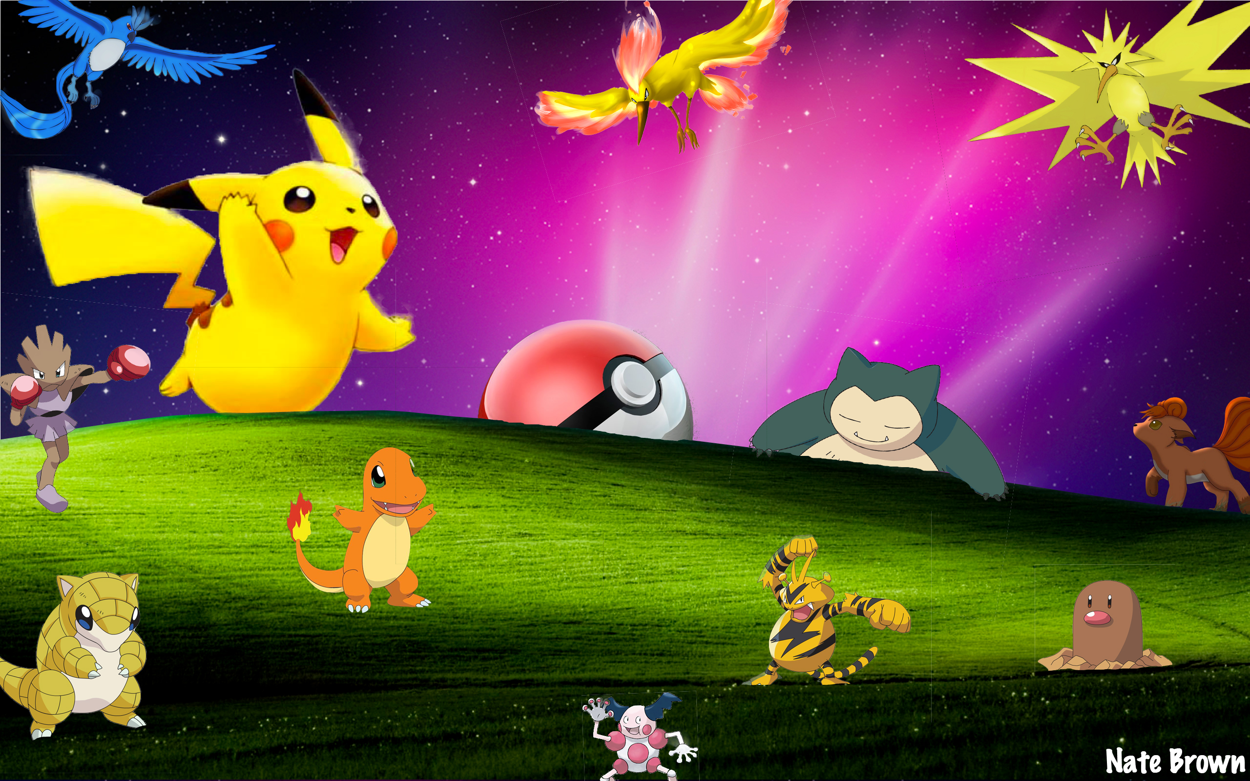 Cute Pikachu And Ash Wallpaper 49 Best Pokemon Wallpapers Technosamrat