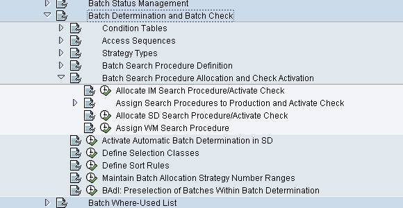 batch detrmination