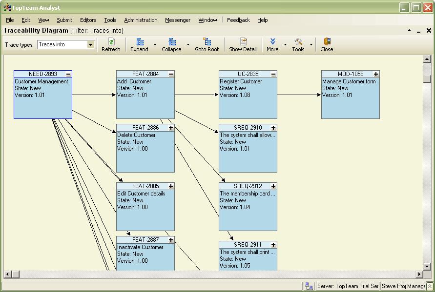what is a matrix diagram