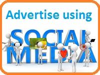 advertise using social media