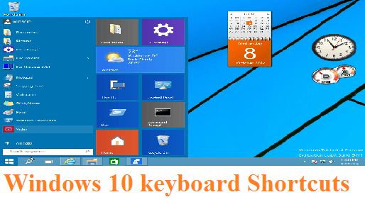 The Best Windows 10 Keyboard Shortcuts