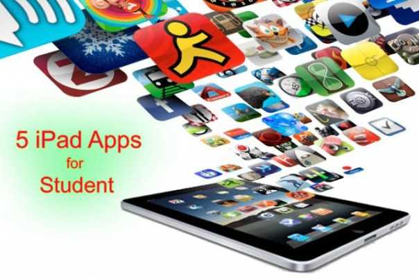 5 Ipad apps that will help make the life of students easier