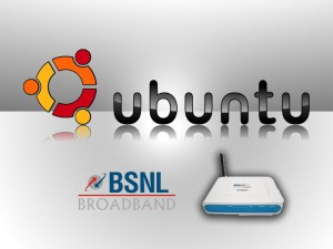 How to connect the BSNL modem in Ubuntu Linux  2